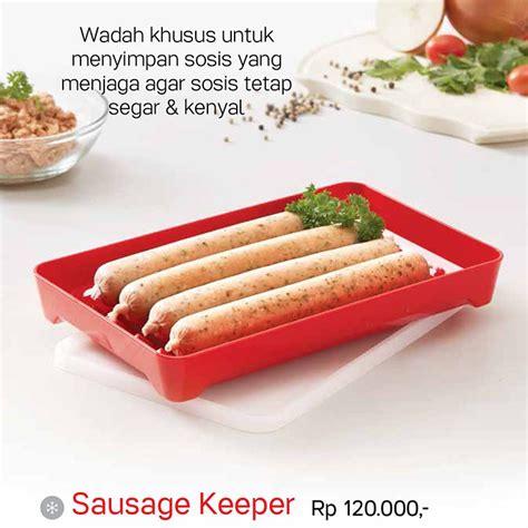 Keeper Tupperware sausage keeper tupperware katalog promo tupperware