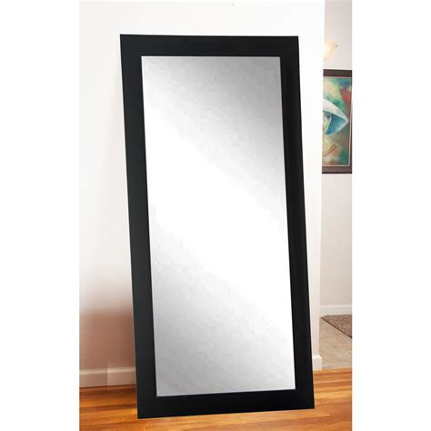 deco mirror 18 in x 64 in single easel floor mirror in