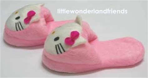 childrens bedroom slippers littlewonderlandfriends hello kitty children kids girls
