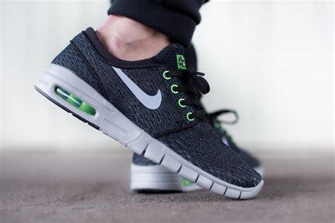 Nike Stefan Janosky nike sb stefan janoski max wolf grey flash lime sbd