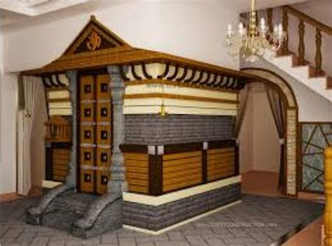 Traditional Style House by Pooja Room Designs Kerala Style Pooja Room Interiors
