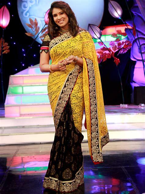 enna porutham buy elegant yellow black designer saree from aaha enna
