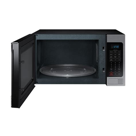 Microwave Oven G 8 Samsung Mg11h2020ct 1 1 Cu Ft Countertop Grill Microwave Oven With Ceramic Enamel