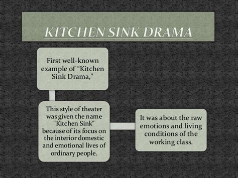 Kitchen Sink Drama Definition Kitchen Sink Drama Definition Kitchen Sink Dramas