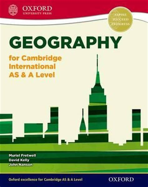 cambridge international as level geography for cambridge international as a level muriel fretwell 9780198307020