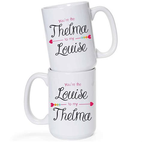 Louise Set by Thelma And Louise Mug Set
