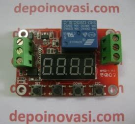 Jual Saklar Timer Digital jual modul timer relay digital multi function
