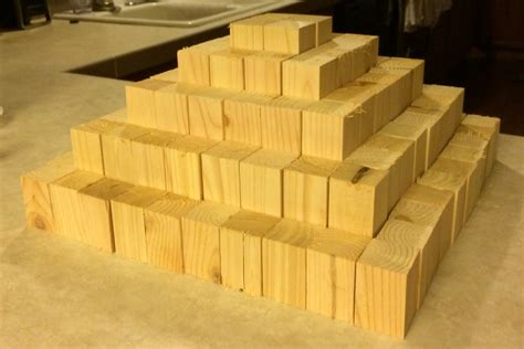 ana white building block pyramid diy projects