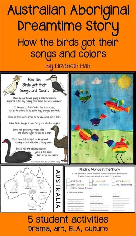 themes in aboriginal stories 56 best australia for kids images on pinterest