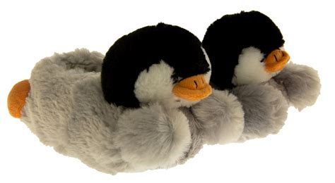 penguin house shoes penguin slippers 28 images fuzzy penguin slippers animal slippers slipper dunlop