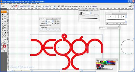 adobe illustrator pattern stroke how to create a cool and colorful logo in adobe
