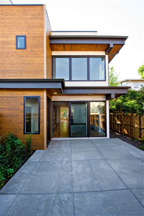 fantastic finishes on a contemporary denver duplex pearl street duplex residence modern exterior denver