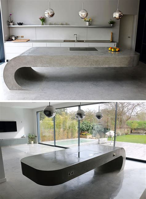 concrete kitchen countertops 11 creative concrete countertop designs to inspire you