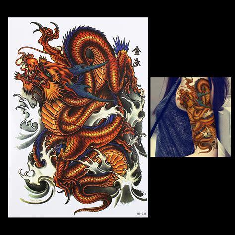 tattoo zubehör online kaufen online kaufen gro 223 handel drachen tattoos f 252 r m 228 nner