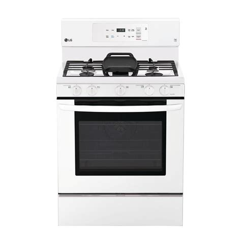 Oven Gas Lg lg electronics 5 4 cu ft gas range with self cleaning