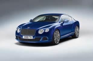 Bentley Hp 2013 Bentley Continental Gt Speed Debuting At Goodwood