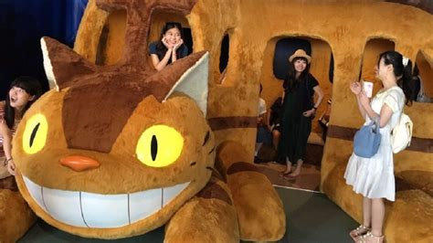 ghibli cat film you can now ride in a full size catbus nerdist