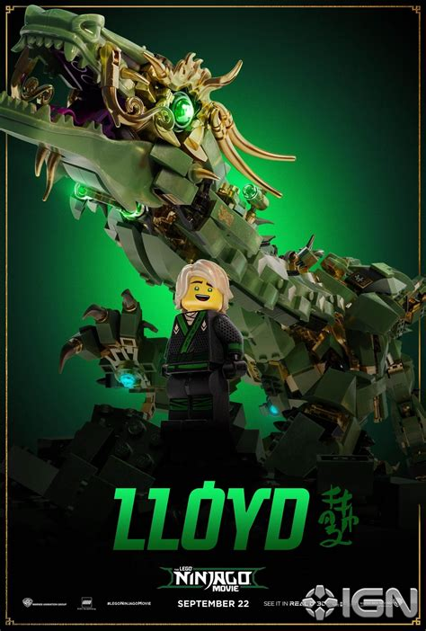 ninjago film new lego ninjago movie promotional material brickset