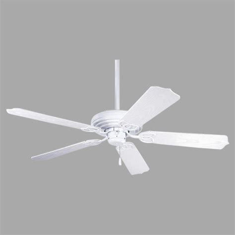 Progress Lighting Ceiling Fans Progress Lighting Airpro 52 In White Indoor Outdoor Ceiling Fan P2502 30 The Home Depot