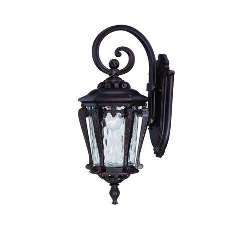 Outdoor Wall Mounted Light Fixtures Acclaim Lighting St Charles Collection Wall Mount 2 Light Outdoor Aged Brass Light Fixture