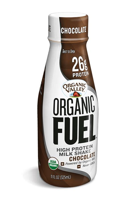 protein drinks for chocolate organic fuel protein shake