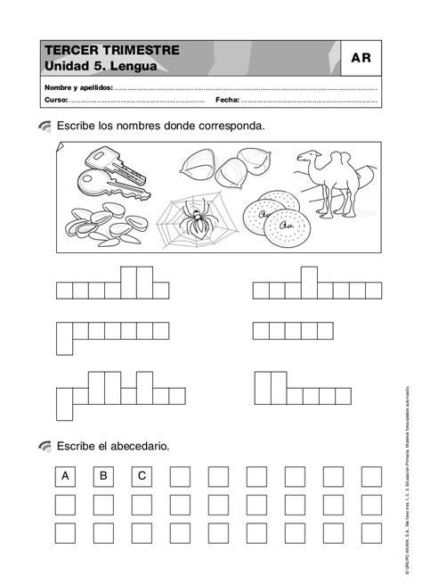 actividades abecedario 2o primaria - Abecedarios