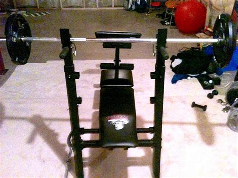 weider bench press bar weight weider training system 146 central ottawa inside