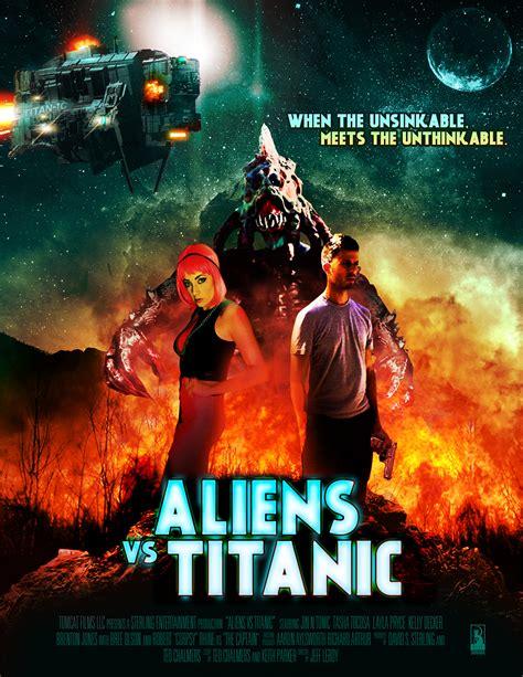 titanic film zenéje aliens vs titanic and monster zilla trailers come