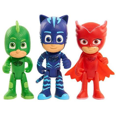pj masks figures pj masks 3 inch light up figure catboy toys plays and