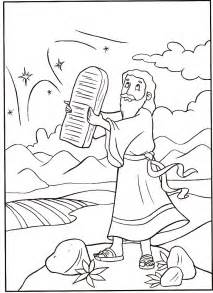 moses coloring pages free printable moses coloring pages for