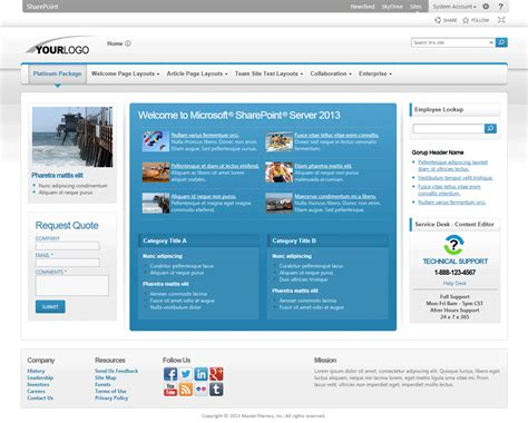 sharepoint page layout templates sharepoint 2013 theme sharepointpackages images frompo