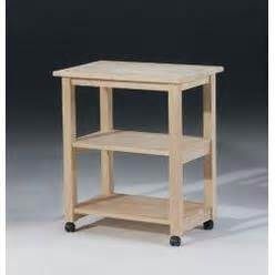 kitchen carts kitchen island sears unfinished wood microwave cart international concepts