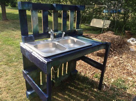 Garden Sink Ideas Pallet Garden Washing Station Pallet Ideas Pallets