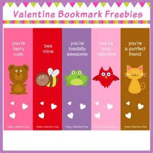 15 free valentine bookmark printables