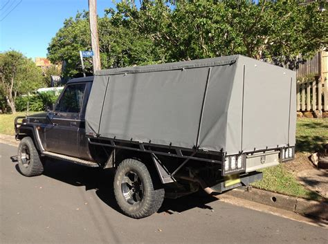Canvas Canopy Ute Canopies Covers Wallaby Track Canvas