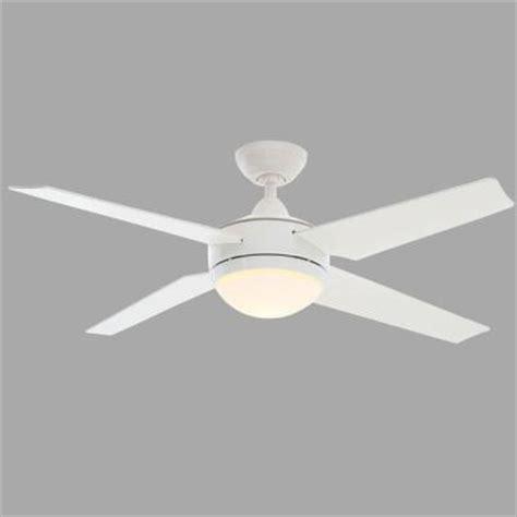 hunter sonic 52 in white ceiling fan 59073 the home depot