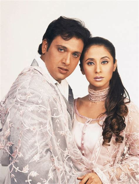 actor govinda information portrait of govinda actor and urmila matondkar indian film