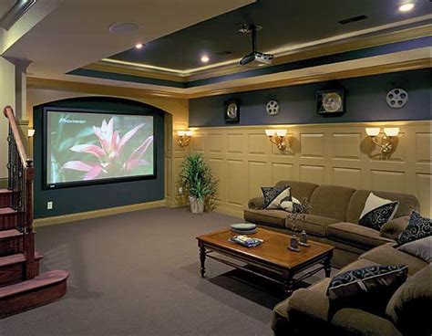 basement theater room rooms
