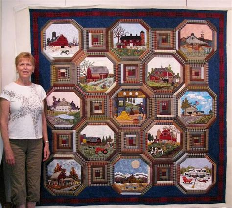 Amazing Secret Of Memory 17 best images about barn farm landscape quilts on