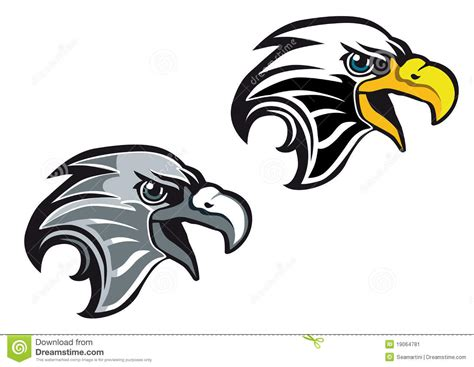 cartoon eagle symbol stock image image 19064781