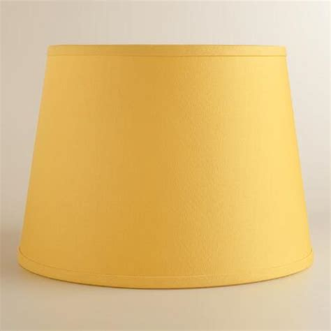 Yellow Table L Shades by Yellow Cotton Linen Table L Shade World Market