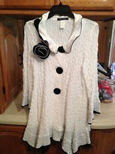 design today jacket design todays black and white coat jacket womens size m