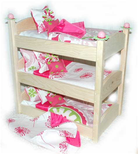 American Made Bunk Beds Doll Bunk Bed Make A Wish American Made Doll Bed