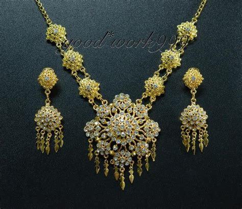 thai ramthai jewelry set t10 costume wedding