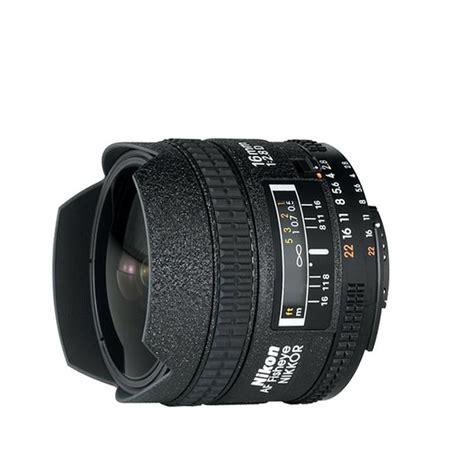 nikon lens af 16mm f2 8 d fisheye nikon af nikkor 16mm f 2 8d fisheye lens black lenses