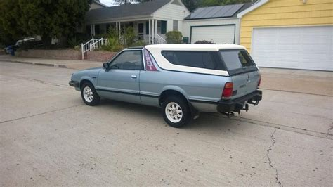 hemmings find of the day 1986 subaru brat gl hemmings daily