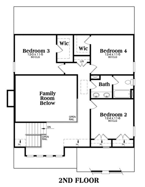 how big is 1100 square feet southern home with 4 bdrms 2021 sq ft floor plan 104 1100