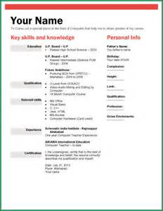 Format Of Marriage Resume Biodata Form For Job 2 Biodata Template Jpg Thankyou