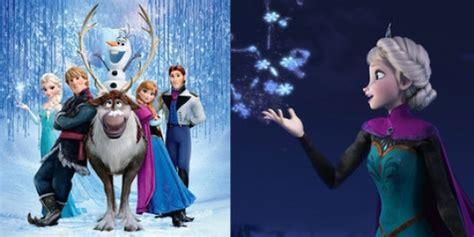 film kartun frozen frozen jadi film animasi dengan pendapatan terbesar di