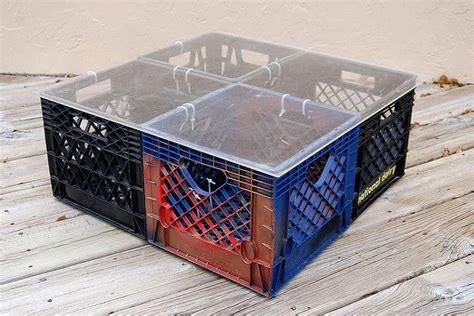 diy milk crate table diy home edition milk